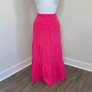🎉5 for $25🎉 Pink Maxi Skirt